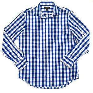 Banana Republic Grant Slim Fit Blue Non Iron shirt